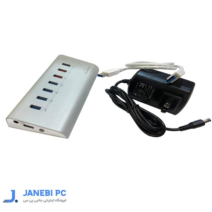 هاب 7پورت USB3.0 بلواندلس مدل H4013U3