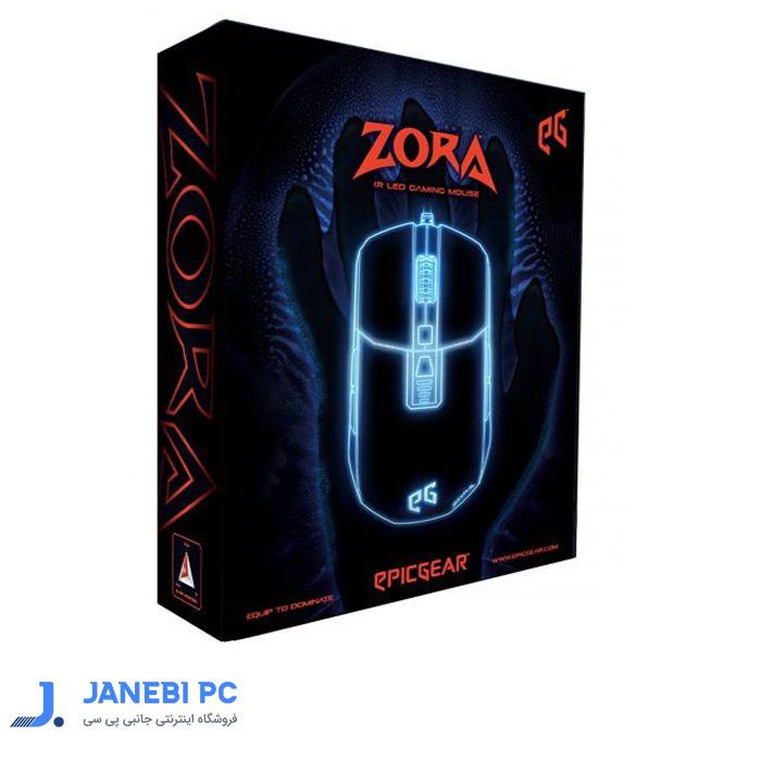 ماوس مخصوص بازی مدل Zora EGMZO1-OBOW-AMSG